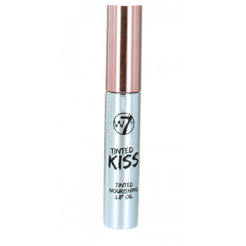 W7 Tinted Kiss Lip Oil English Rose