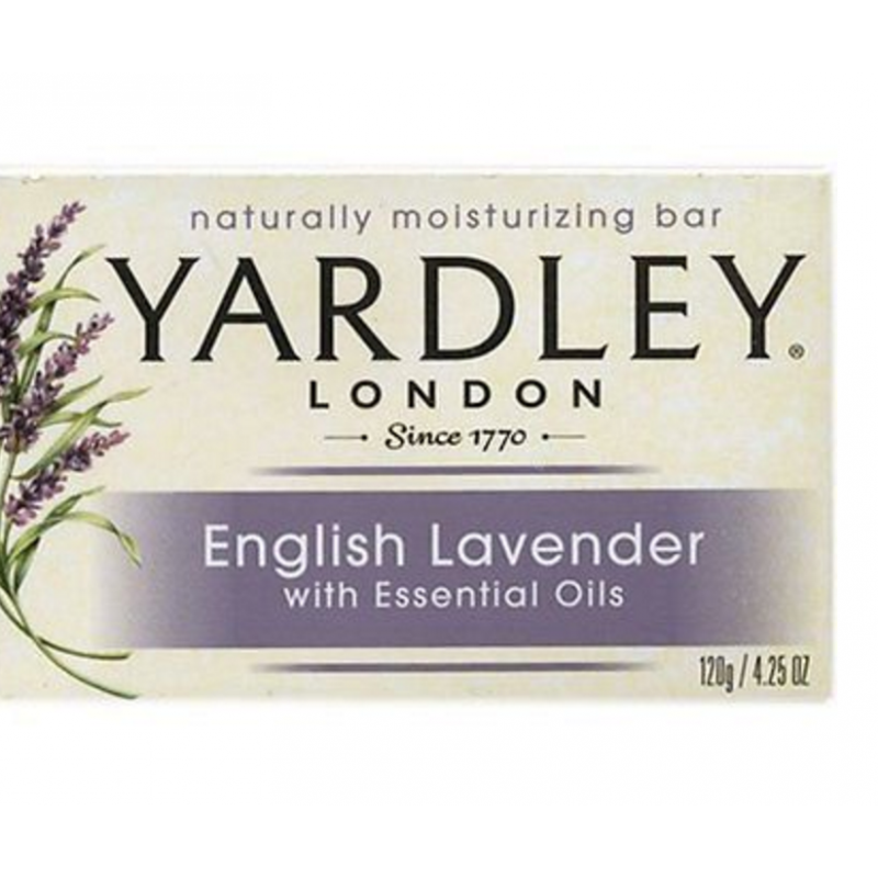 Yardley London Bar Soap English Lavender