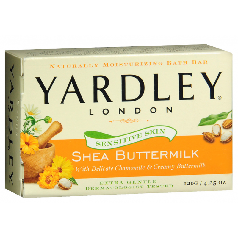 Yardley London Bar Soap Shea Buttermilk