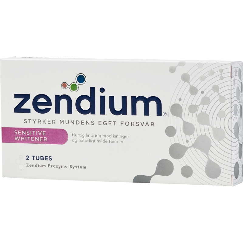 Zendium Sensitive + Whitening Hammastahta