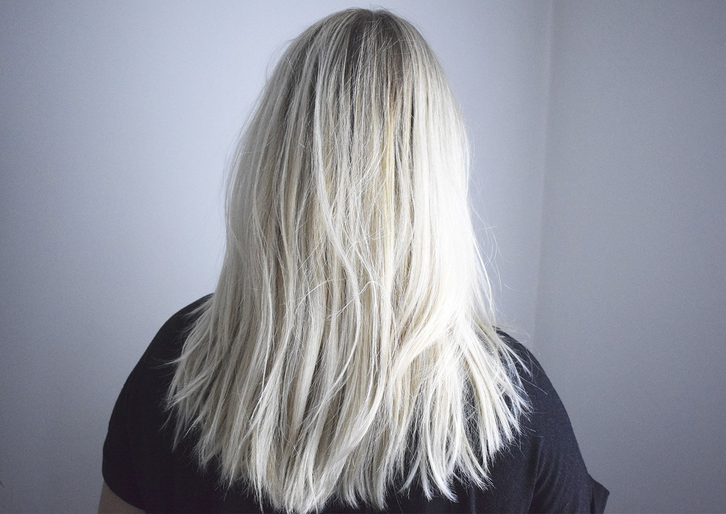 loreal silver shampoo före efter