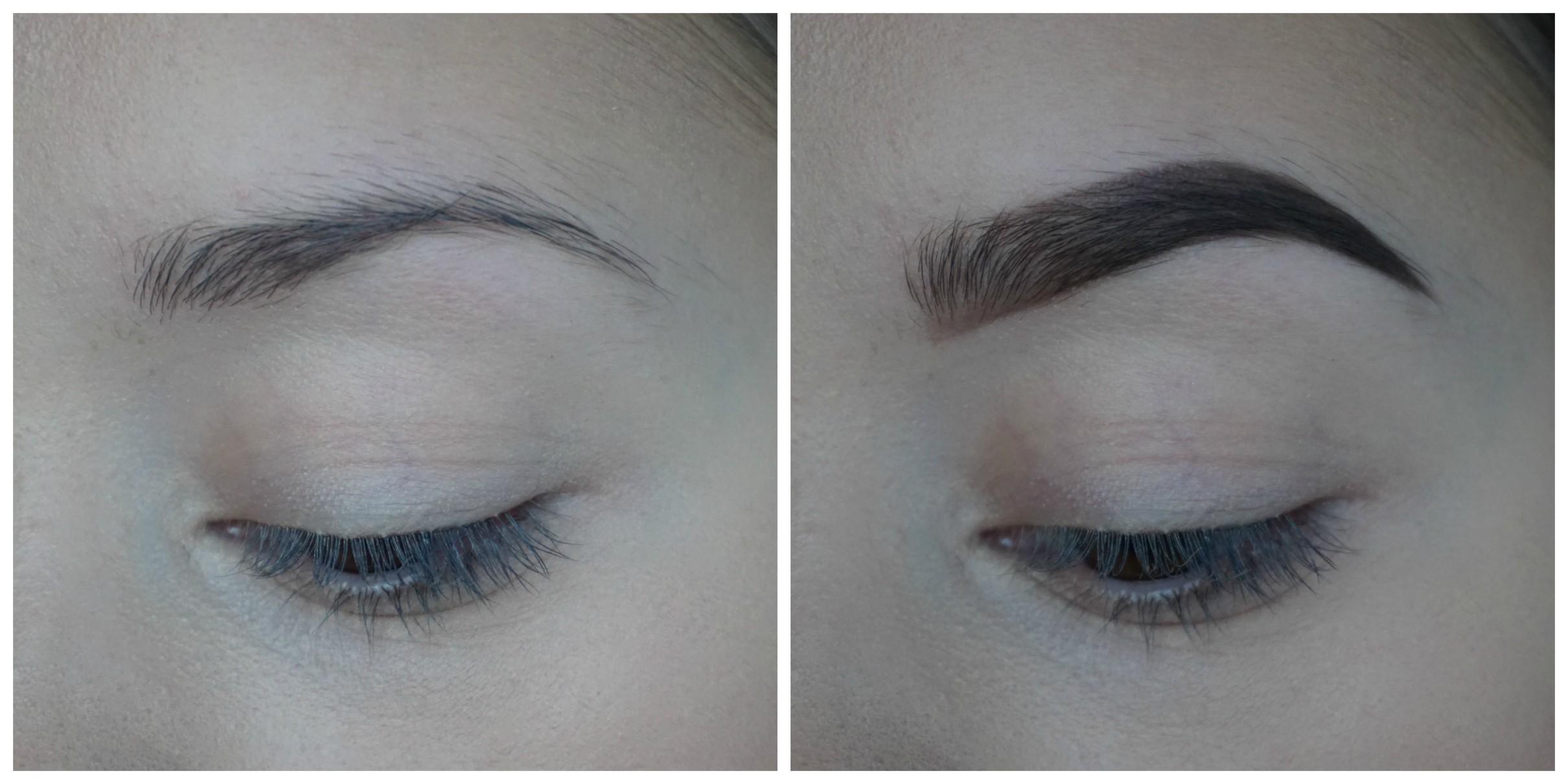 hur fort växer ögonbryn