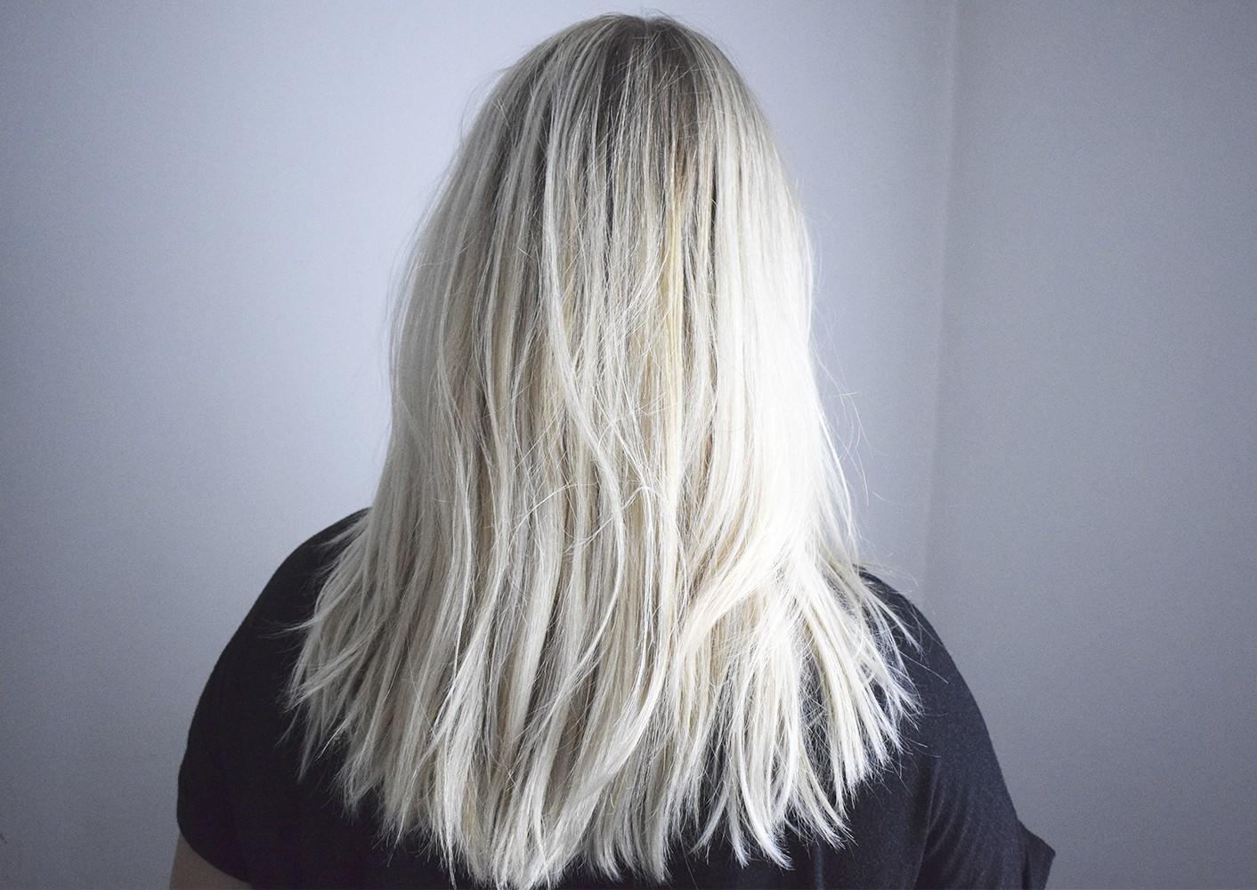 milkshake hårfarve silver
