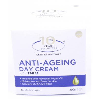10 Years Younger Anti-Ageing Day Cream SPF15 50 ml