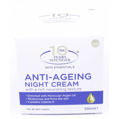 10 Years Younger Anti-Ageing Night Cream 50 ml
