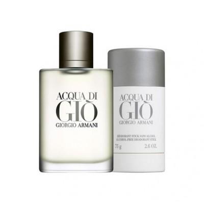 Giorgio Armani Acqua Di Gio EDT & Deostick 100 ml + 75 ml