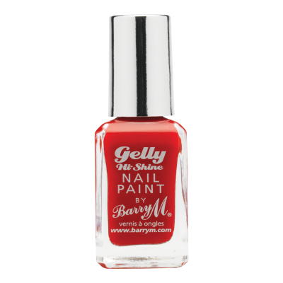 Image of   Barry M. Gelly Nail Paint 04 Blood Orange 10 ml