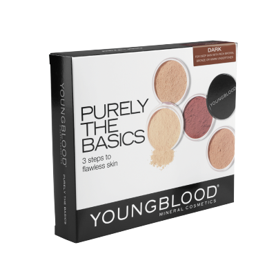 Youngblood Mineral Basic Kit Dark 4 x 2 g + 0,5 g + 1 st