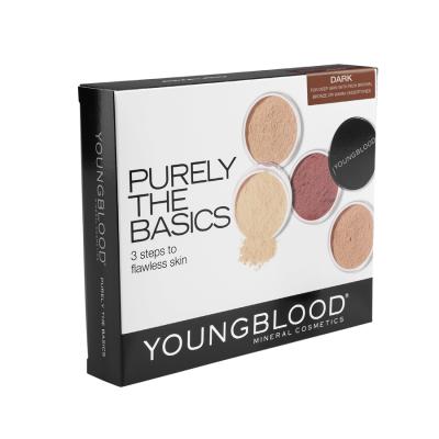 Youngblood Mineral Basic Kit Dark 4 x 2 g + 0,5 g + 1 pcs