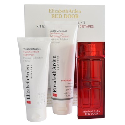 Image of   Elizabeth Arden Red Door Spa Essentials Kit 50 ml + 75 ml + 125 ml