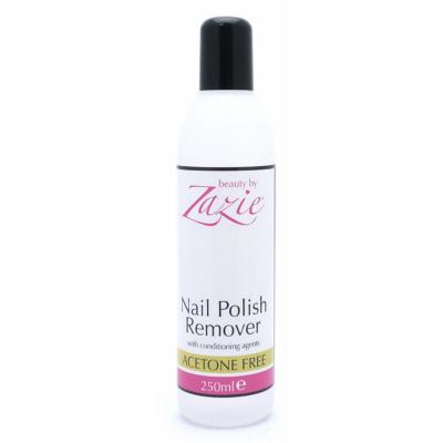 Zazie Nail Polish Remover Acetone Free 250 ml