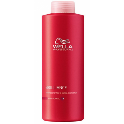 Image of   Wella Professionals Brilliance Shampoo Coarse 500 ml