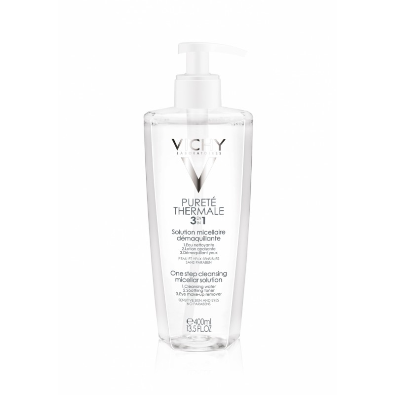 Vichy Purete Thermale 3 In 1 Calming Cleansing Micellar