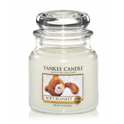 Yankee Candle  Classic Small Jar Soft Blanket Candle 104 g