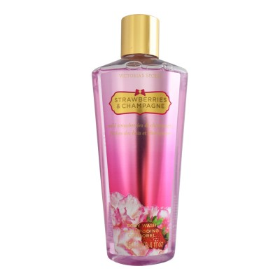 Image of   Victorias Secret Strawberries & Champagne Bodywash 250 ml