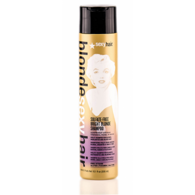 Image of   Sexy Hair Sulfate-Free Bright Blonde Shampoo 300 ml