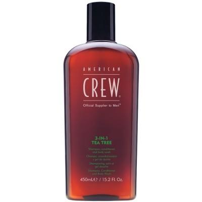 American Crew Tea Tree 3-in-1 Shampoo 450 ml