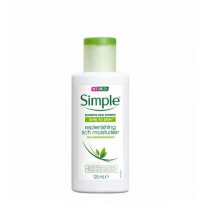 Simple Replenishing Rich Moisturiser 125 ml