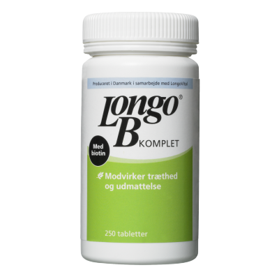 Longo B-Vitamin Komplet 250 stk