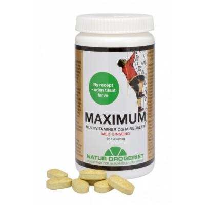 Natur Drogeriet Maximum Extra m. Ginseng 90 stk