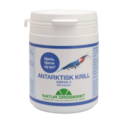 Natur Drogeriet Antarktisk Krill Omega 3 Kapsler 200 stk