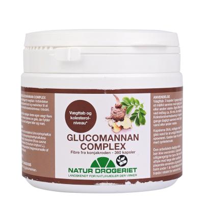 Natur Drogeriet Glucomannan Complex Kapsler 360 stk