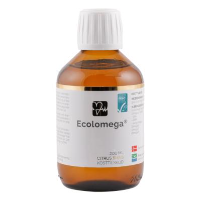 Natur Drogeriet Ecolomega Fiskeolie Øko 200 ml