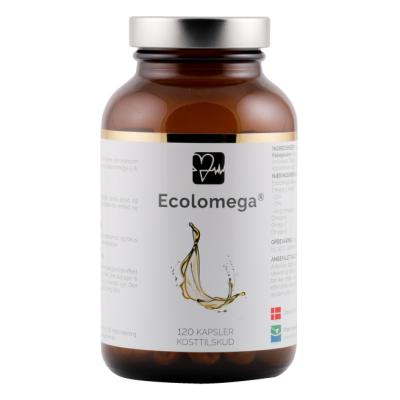 Natur Drogeriet Ecolomega Fiskeolie Kapsler 120 stk