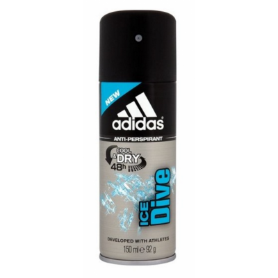 Stockists of Adidas Ice Dive Anti-Perspirant Deospray 150 ml