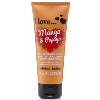 I Love Cosmetics Hand Lotion Mango & Papaya 75 ml
