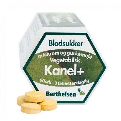 Berthelsen Kaneli+ 90 tablettia