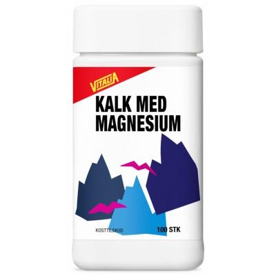 Vitalia Magnesium + Calcium 100 st