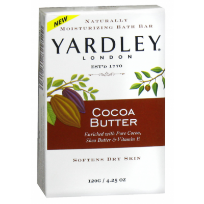 Yardley London Bar Soap Cocoa Butter 120 g