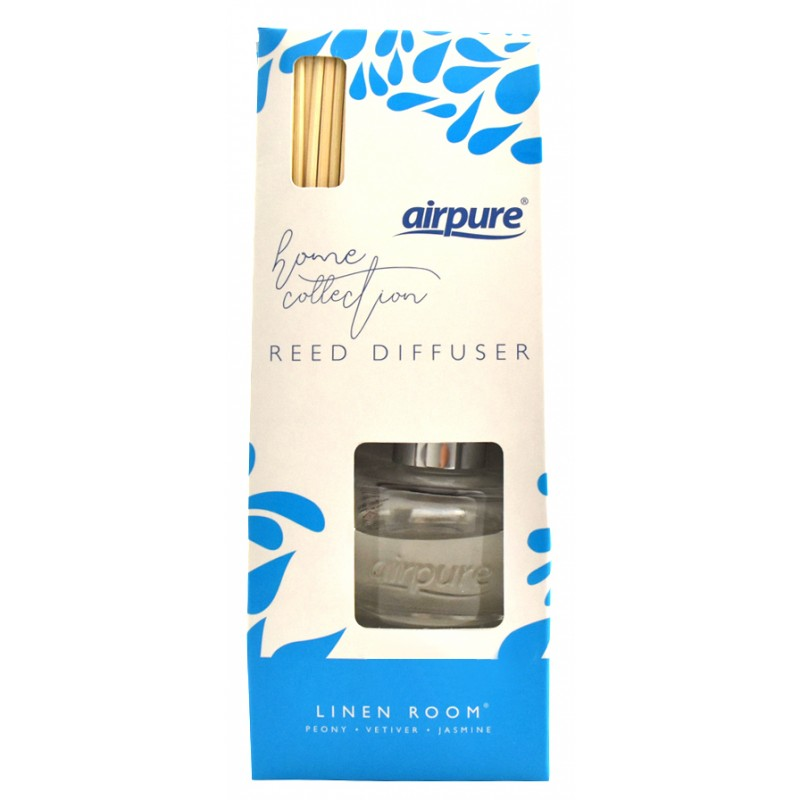 Airpure Reed Diffuser Home Collection Linen Room 30 Ml