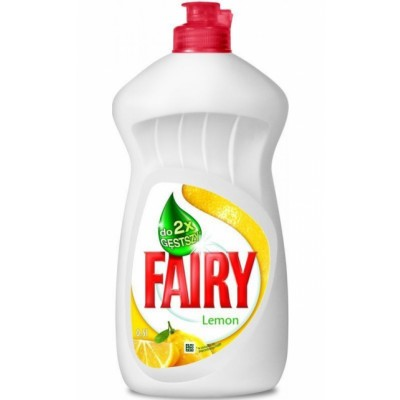 Fairy Lemon Diskmedel Flytande 450 ml