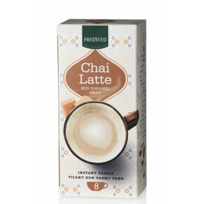 Fredsted Chai Latte Caramel 208 g