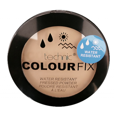 Technic Colour Fix Water Resistant Pressed Powder Almond 12 g