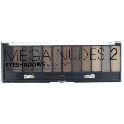 Technic Mega Nudes Eyeshadow Palette 2 10,8 g