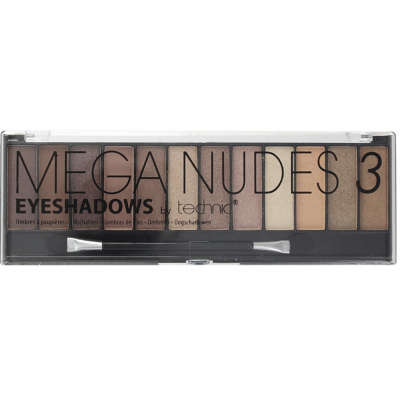 Technic Mega Nudes Eyeshadow Palette 3 10,8 g