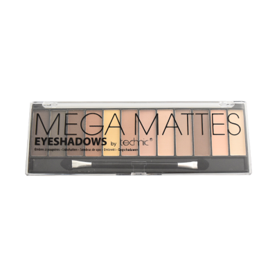Technic Mega Mattes Eyeshadow Palette Nudes 10,8 g