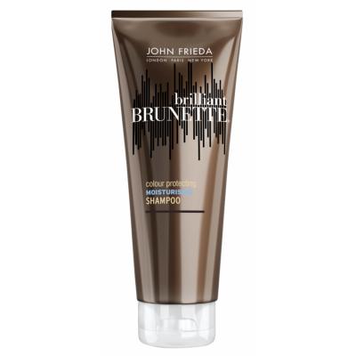 John Frieda Brilliant Brunette Colour Protecting Moisturising Shampoo 250 ml
