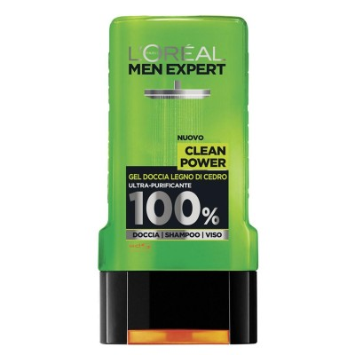 L'Oreal Men Expert Shower Gel Clean Power 300 ml