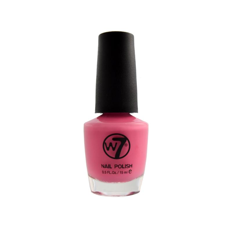 Cotton Candy Satin Fingernail Polish: W7 Nail Polish 98 Cotton Candy 15 Ml