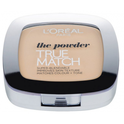 L'Oreal True Match Powder W1 Golden Ivory 9 g