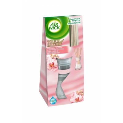 Air Wick Raumduft mit Rattanstäbchen Seide & Orientalische Orchidee 25 ml
