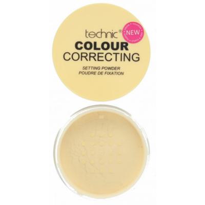 Technic Colour Correcting Setting Powder Yellow 20 g