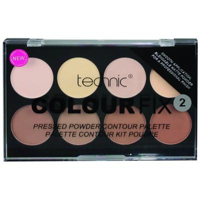 Technic Colour Fix Pressed Powder Contour Palette 2 8 x 3,5 g