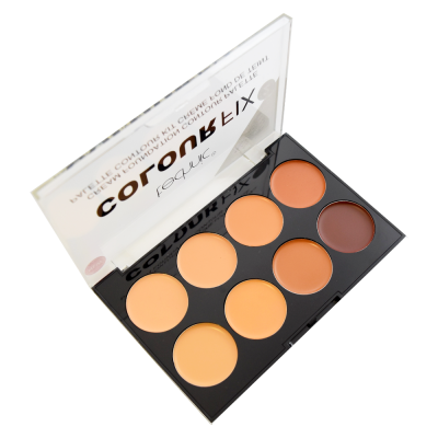 Technic Colour Fix Cream Foundation Contour Palette 2 8 x 3,5 g