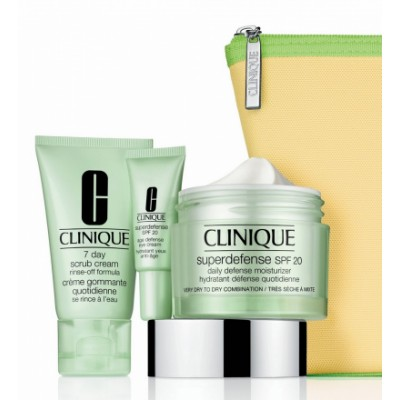 Image of   Clinique Superdefense Value Set 50 ml + 5 ml + 30 ml