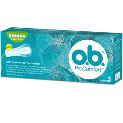 O.B. Pro Comfort Super Plus 16 pcs